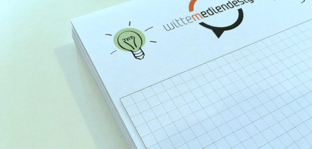 Karriere Notizblöcke mit Logo drucken lassen Bielefeld